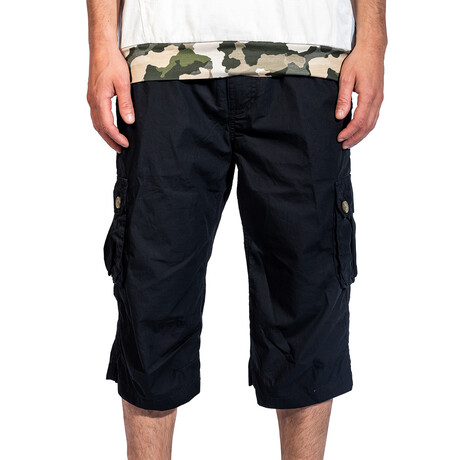 Mesa Cargo Shorts // Black (30)