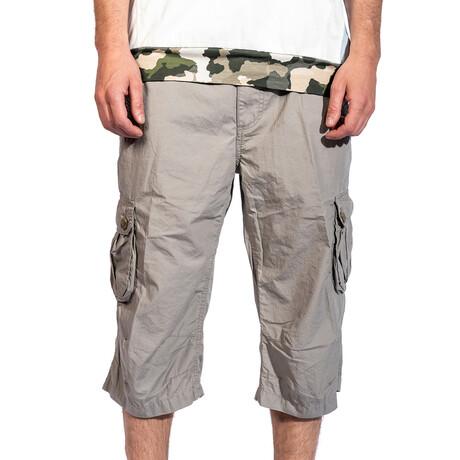 Flagstaff Cargo Shorts // Stone (30)