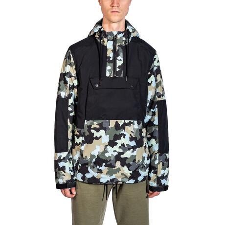 Outwear Jacket // Black Camo (S)