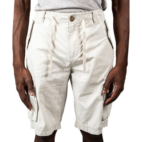 Canyon Cargo Shorts // Off White (30)