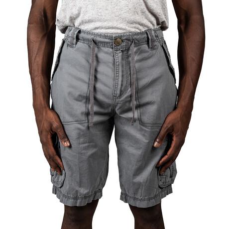 Scottsdale Twill Cargo Shorts // Slate (30)