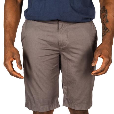 Jax Woven Shorts // Slate (30)