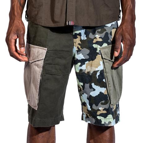 Presidio Cargo Shorts // Black Camo (30)