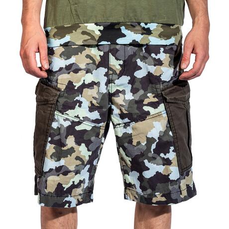 Sacramento Cargo Shorts // Black Camo (30)