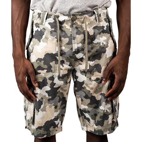 Denali Cargo Shorts // Olive Camo (30)