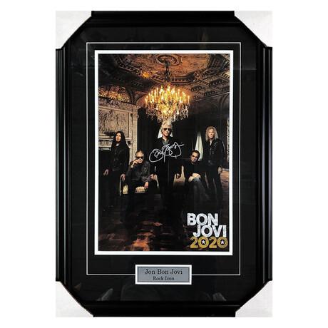 Jon Bon Jovi // Autographed Photo Display