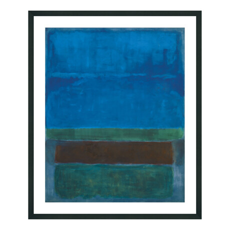 Untitled, 1952 (Blue, Green, and Brown)