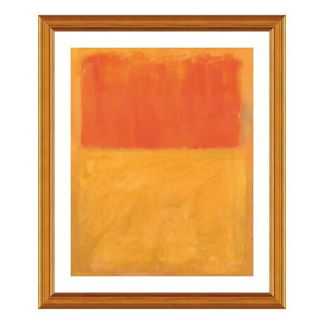 Orange and Tan, 1954