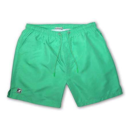 Solid Swim Short // Verdis Green (S)