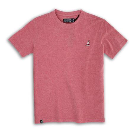 Short Sleeve Pique Tee // Red Dahlia (S)