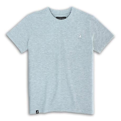 Short Sleeve Pique Tee // Ash Gray (S)