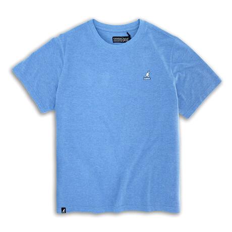 Short Sleeve Pique Tee // Dream Blue (S)