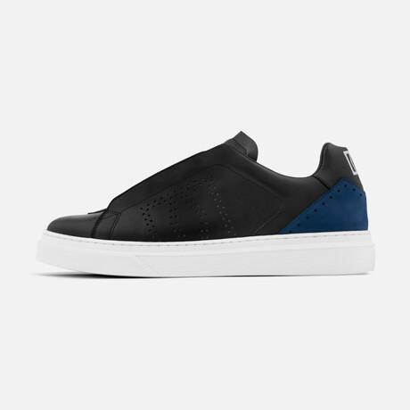 Men's Rocket Sneaker // Black + Blue (Men's Euro Size 40)