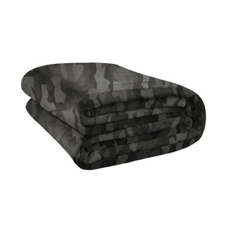 Original Stretch Blanket // Gray Camo
