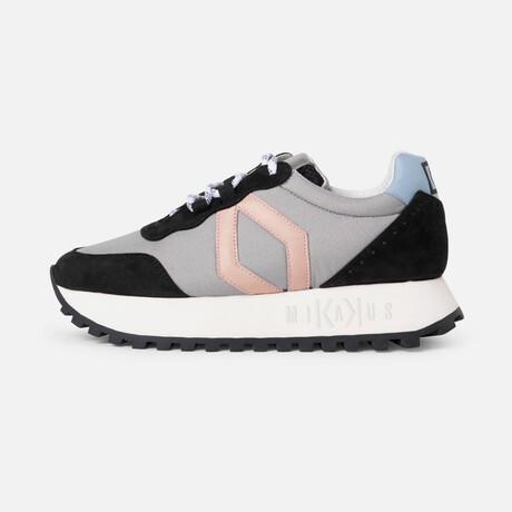 Women's RR4 Sneaker // Gray + Pink + Blue (Men's Euro Size 38)