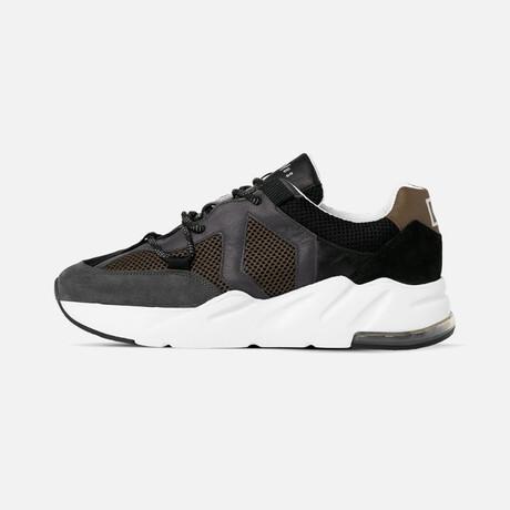 Men's Boom Sneaker // Khaki + Black + Gray (Men's Euro Size 39)