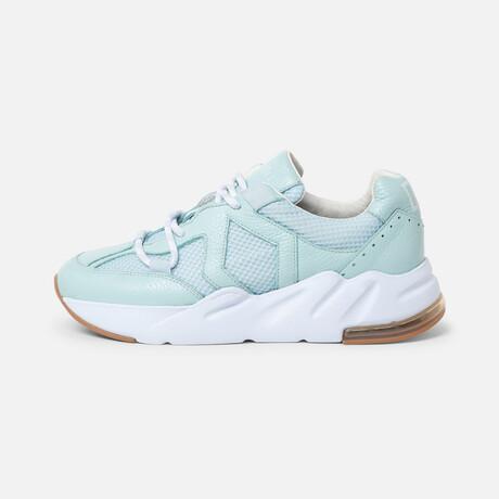 Women's Boom Sneaker // Mint + White (Women's Euro Size 36)