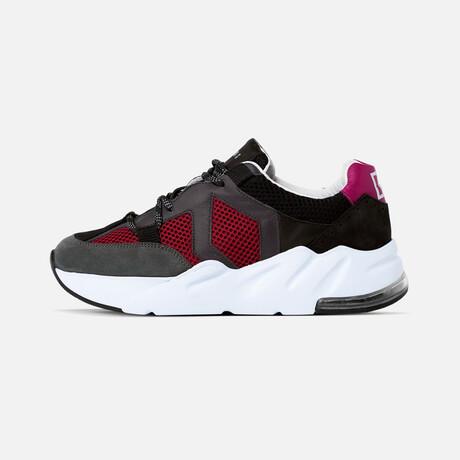 Women's Boom Sneaker // Black + Gray (Women's Euro Size 37)