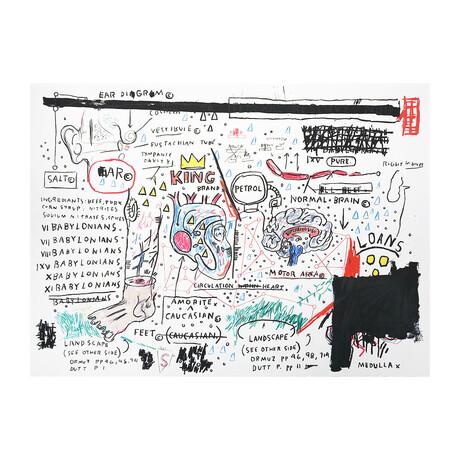 Jean-Michel Basquiat // King Brand // 1982-83/2019