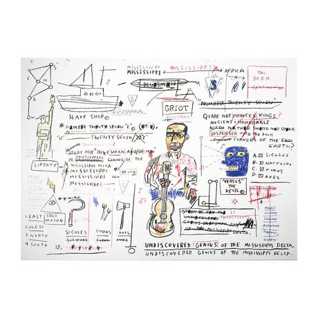 Jean-Michel Basquiat // Undiscovered Genius // 1982-83/2019