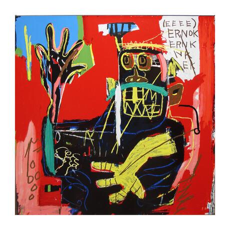 Jean-Michel Basquiat // Ernok // 1982/2001