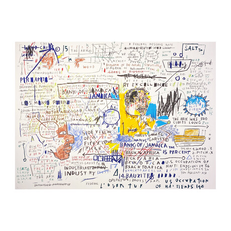 Jean-Michel Basquiat // 50 Cent Piece // 1982-83/2019