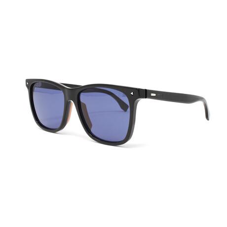 Fendi // Men's FFM0002S Sunglasses // Black + Blue
