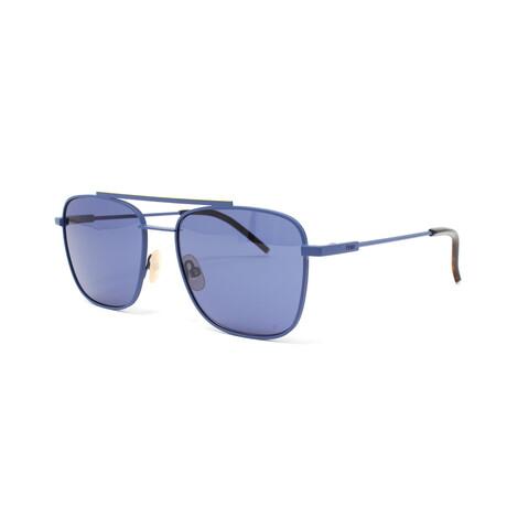 Fendi // Men's FFM0008S Sunglasses // Matte Blue