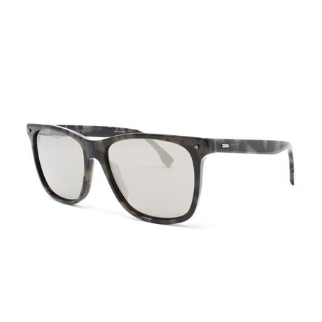 Fendi // Men's FFM0002S Sunglasses // Black + Gray