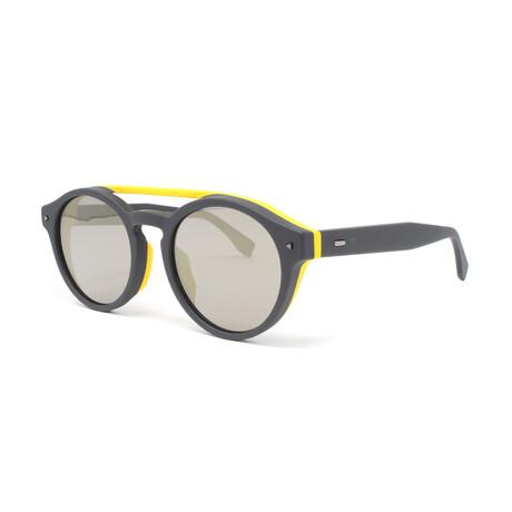 Fendi // Men's FFM0017FS Sunglasses // Gray + Yellow
