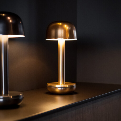 TWO Table Light // Gold