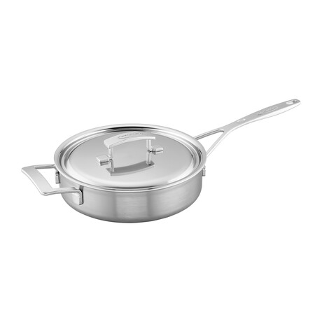 "Industry // Stainless Steel Sauté Pan // 9.5""Ø"
