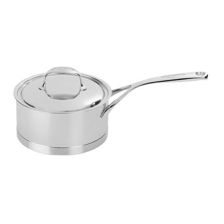 Atlantis // Stainless Steel Sauce Pan + Lid // 2.25 qt.