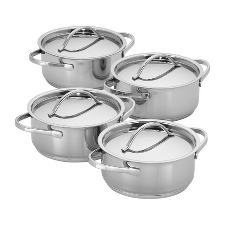 Resto // Stainless Steel Pots // Set of 4