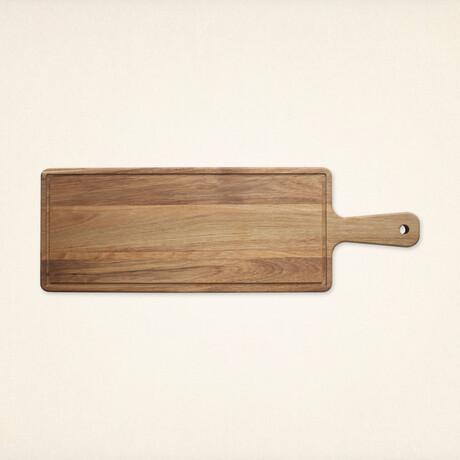 Rectangular Serving Platter & Cutting Board