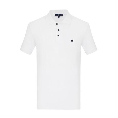 Melvin Short Sleeve Polo // White (S)