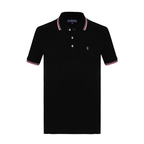 Chandler Short Sleeve Polo // Black (S)