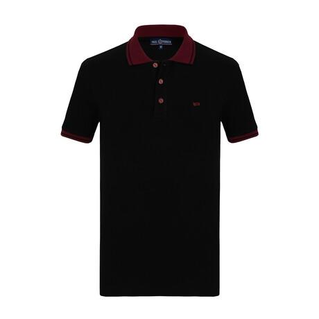 Jace Short Sleeve Polo // Black (S)
