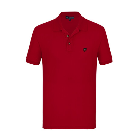 Will Short Sleeve Polo // Red (S)