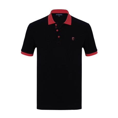 Anas Short Sleeve Polo // Navy (S)