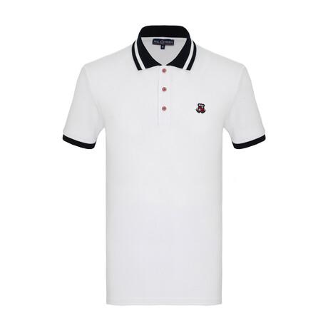 Juan Short Sleeve Polo // White (S)