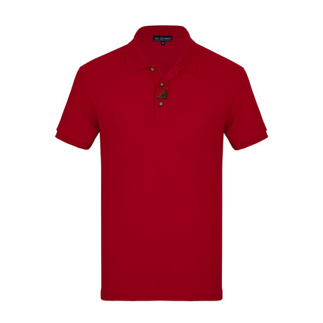 Jule Short Sleeve Polo // Red (S)