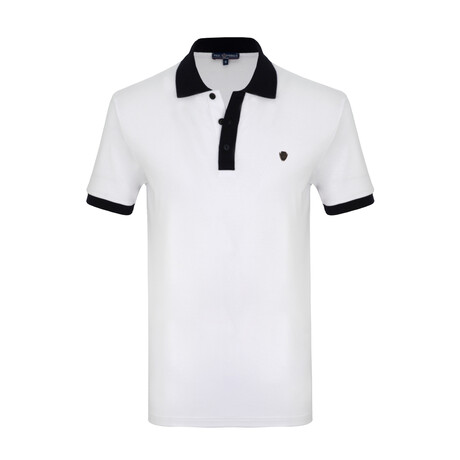 Dale Short Sleeve Polo // White (S)