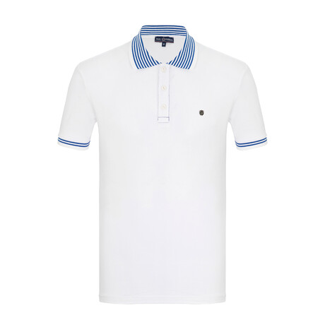Xander Short Sleeve Polo // White (S)
