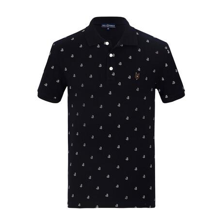 Sky Short Sleeve Polo // Navy (S)