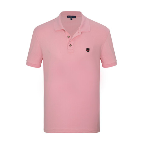 Musa Short Sleeve Polo // Pink (S)