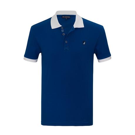 Myles Short Sleeve Polo // Sax (S)
