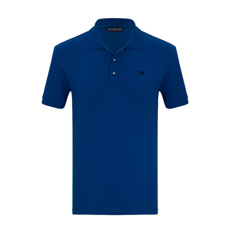 Harden Short Sleeve Polo // Sax (S)