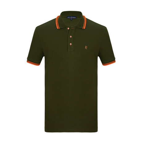 Ted Short Sleeve Polo // Green (S)