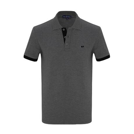 Darren Short Sleeve Polo // Anthracite (S)